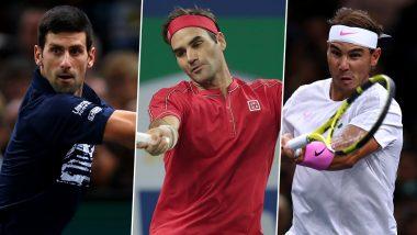ATP Finals 2019 Draw:नोवाक जोकोविच, रोजर फेडररएटीपी फायनल्सच्या एकाच गटात; राफेल नडाल यालाडॅनिल मेदवेदेव,अलेक्झांडर झवेरेव्ह यांचे आव्हान
