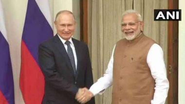 रशियाचे अध्यक्ष व्लादिमिर पुतीन यांच्याकडून दुसऱ्या महायुद्धाच्या विजयाचा अमृतमोहत्सव साजरा करण्यासाठी पंतप्रधान नरेंद्र मोदी यांना निमंत्रण