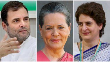 सोनिया गांधी, राहुल गांधी, प्रियंका गांधी-वड्रा यांची SPG सुरक्षा हटवली जाणार - सूत्र