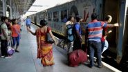 Coronavirus Lockdown: 21 दिवसांच्या लॉकडाऊननंतर भारतीय रेल्वे सेवा 15 एप्रिल पासून सुरू होणार