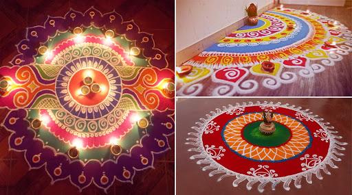 Tulsi Vivah 2019 Rangoli Designs: तुळशी आणि शाळीग्रामच्या विवाहानिमित्त काढा 'या' आकर्षक रांगोळ्या