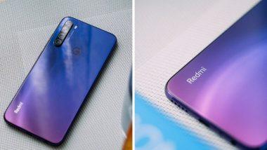 Redmi Note 8 स्मार्टफोन खरेदी करण्यासाठी आजपासून सेल, ग्राहकांना कॅशबॅकसह मिळणार डबल डेटा