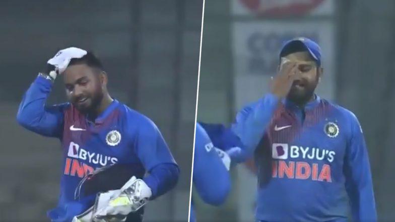बांग्लादेशविरुद्धDRS संधर्भात पुन्हा रिषभ पंत याने घेतला चुकीचा निर्णय, रोहित शर्मा याने मारला कपाळाला हात, पाहा Video