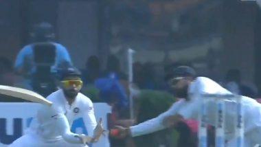 IND vs BAN 2nd Test Day 1: ईडन गार्डन्सवर दिसला 'उड़ता रोहित' कॅच बघून तुम्ही ही म्हणाल OMG, पाहा व्हिडिओ