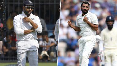 IND vs BAN 1st Test: रोहित शर्मा याने Lunch ब्रेकदरम्यान केला स्लीप कॅचिंगचा सराव, मग मोहम्मद शमी याला मिळवून दिली महत्वाची विकेट, पाहा Video