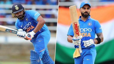 IND vs WI 1st T20I: विराट कोहली याची नाबाद 94 धावांची खेळी, टी-20 मध्ये रोहित शर्मा याला पछाडत बनला No 1