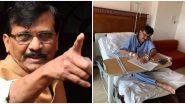 शिवसेना नेते संजय राऊत यांची Angioplasty झाल्यानंतरही तलवारबाजी कायम; लीलावती रुग्णालयातून भाजपवर शरसंधान