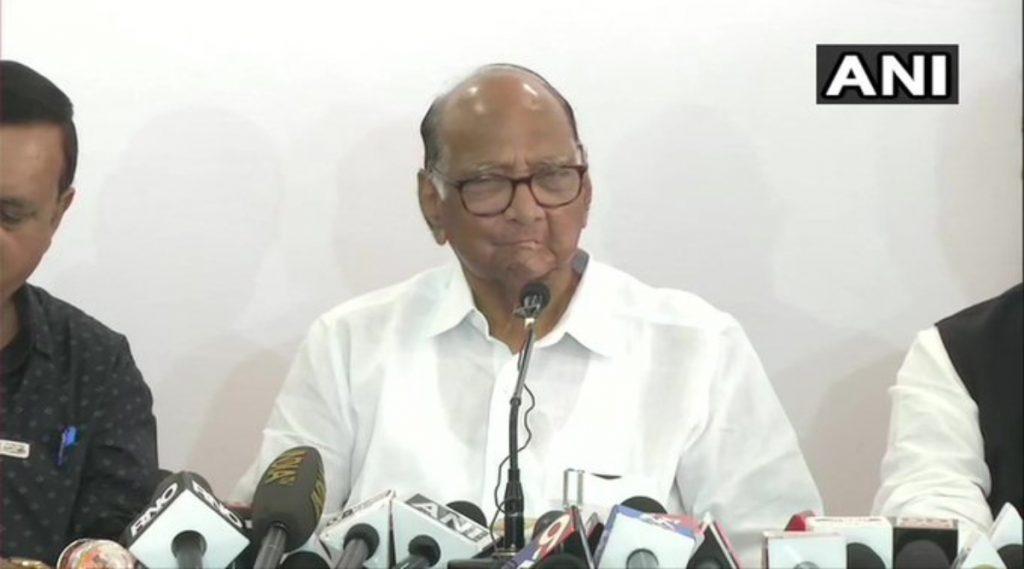 महाराष्ट्राला शिवसेना-राष्ट्रवादी काँग्रेस-काँग्रेस आघाडीचे स्थिर सरकार मिळेल; शरद पवार यांनी व्यक्त केला विश्वास