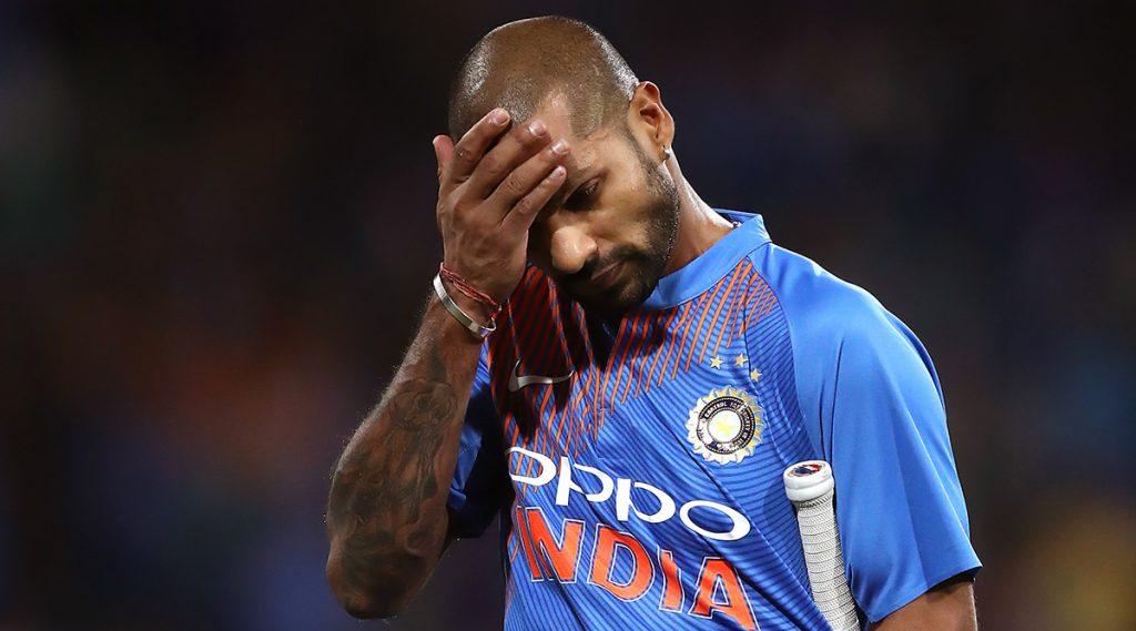 IND vs WI ODI 2019:टी-20 नंतर शिखर धवन वेस्ट इंडीजविरुद्ध वनडे मालिकेला मुकण्याची शक्यता, वाचा सविस्तर