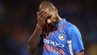 IND vs AUS 2nd ODI: शिखर धवन याच्या बरगड्यांना दुखापत, मैदानात 'या' खेळाडूने घेतली जागा