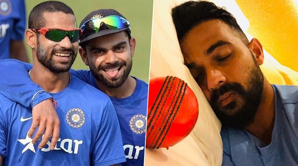 IND vs BAN Day-Night Test 2019: अजिंक्य रहाणे याला पडले पिंक बॉलचे स्वप्न,विराट कोहली-शिखर धवन यांनी दिल्या मजेदार प्रतिक्रिया, पाहाTweet