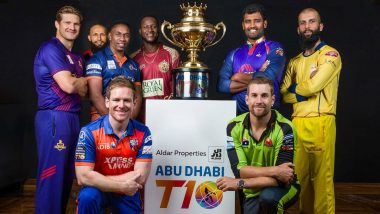Abu Dhabi T-10 Cricket League 2019 Live Streaming: आज पासून सुरु होणार टी-10 लीगचा थरार; आजच्या तिन्ही सामने आपण SonyTen 3 वर पाहू शकता लाईव्ह