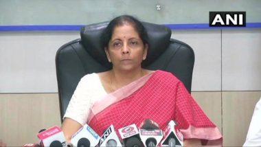 धक्कादायक! सहा महिन्यांत सरकारी बँकांमध्ये तब्बल 95 हजार कोटी रुपयांचा घोटाळा- निर्मला सीतारमण