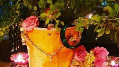Tulsi Vivah 2019:  'या' पारंपारिक मंगलाष्टकांच्या जयघोषात लावा यंदा तुळशीची लग्नं!