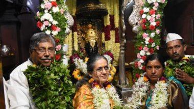 Kartiki Ekadashi 2019 Maha Puja: महसूलमंत्री चंद्रकांत पाटील यांच्यासह 'सांगली' च्या ओमासे जोडप्याने केली विठ्ठलाची शासकीय पूजा