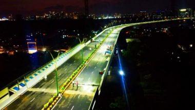 BKC-Chunabhatti फ्लायओव्हर आजपासून मुंबईकरांच्या सेवेत; सायन जवळील वाहतूक कोंडी फुटण्यास मदत होणार
