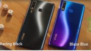 Vivo U20: बॅटरी, फास्ट चार्जिंग, डिस्प्ले, कॅमेरा यांसारख्या दमदार फीचर्स चा नवा स्मार्टफोन आज भारतात झाला लाँच; पहा काय आहे किंमत