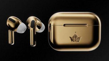 अबब! रशियन कंपनीने बाजारात आणले तब्बल 48 लाखांचे Apple AirPods; जाणून घ्या काय आहे खास