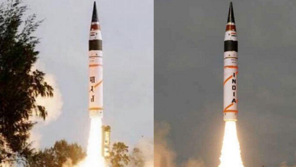 अग्नि -2 बॅलिस्टिक क्षेपणास्त्राची पहिली रात्र चाचणी यशस्वी; न्युक्लिअर मिसाईलसह 2000 कि.मी.पर्यंत करू शकते हल्ला