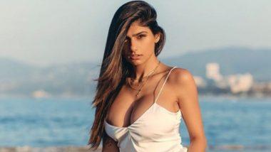 Pornhub ची प्रसिद्ध माजी XXX स्टार 'मिया खलिफा'ने शेअर केला मादक फोटो; तंग ड्रेसमधून दाखवला आपल्या वक्षांचा आकार (Photo)
