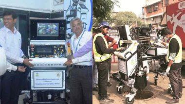 मुंबई: BMC चा नवा उपक्रम; मॅनहोलची साफसफाई करण्यासाठी सादर केले रोबोट्स, चेंबूरमध्ये काम सुरु