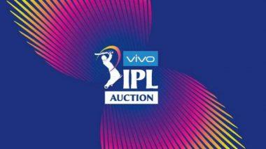 IPL 2020: आयपीएल खेळाडूंचा लिलाव येत्या 19 डिसेंबरला, कोलकाता शहराला प्रथमच संधी