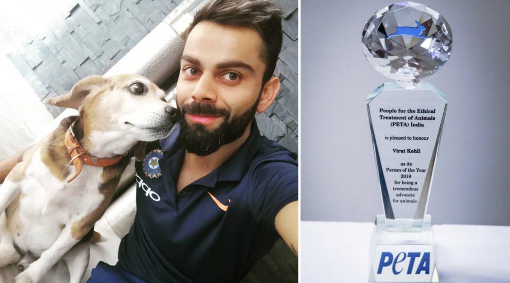 विराट कोहली बनला PETA2019 इंडिया पर्सन ऑफ द इयर, पशु संवर्धनाच्याप्रयत्नांसाठी केले सन्मानित