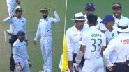 Spirit Of Cricket! मोहम्मद शमी याचा चेंडूहेल्मेटवर लागल्यावर विराट कोहली ने नईम हसन साठी टीम इंडियाच्या फिजिओची मागवली मदत, पाहा Video