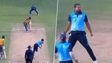 Syed Mushtaq Ali Trophy: 'हेपठाणचे हात आहेत ठाकूर', यूसुफ पठाण याच्या शानदार झेलवर रशीद खान याने अशी घेतली फिरकी, पहा Tweet