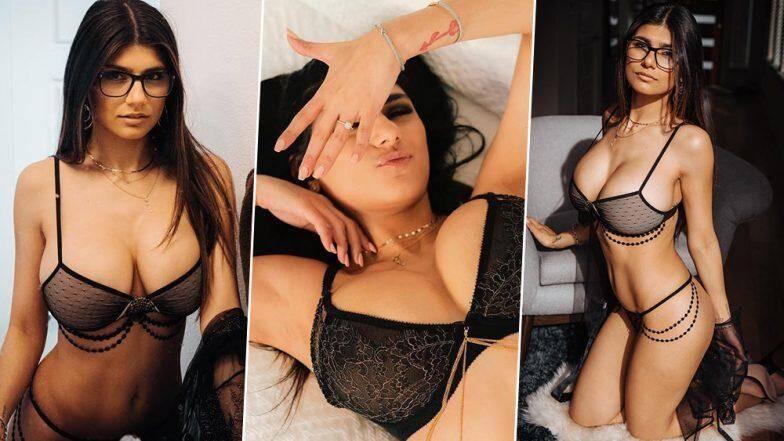 पॉर्नहब XXX स्टार 'मिया खलीफा'ने बीचवर केले हॉट फोटोशूट; 'या' अवयवाचे दर्शन घडवत सोशल मिडीयावर धुमाकूळ