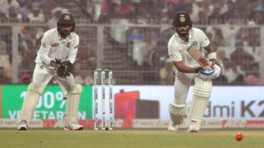 IND vs BAN 2nd Pink Ball Test: विराट कोहली याच्या रेकॉर्ड शतकाने टीम इंडिया मजबूत,Lunch पर्यंत भारताचा स्कोर 289/4