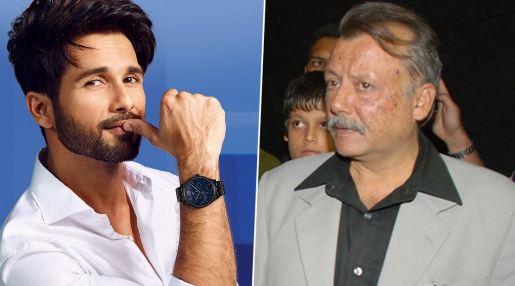 Shahid Kapoor त्याच्या पिढीमधील सर्वोत्कृष्ट कलाकारांपैकी एक; वडील Pankaj Kapoor यांची पोचपावती