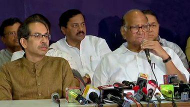 Maharashtra Government Formation: महाराष्ट्राची भावना भाजप विरोधात, शिवसेना आणि राष्ट्रवादी-काँग्रेस आघाडी कायम एकत्र राहून देणार लढा