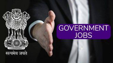 Sarkari Naukri 2019 WBPSC Recruitment: 'असिस्टंट प्रोफेसर' पदासाठी 167 जागांवर होणार भरती; 19 डिसेंबरपूर्वी pscwbonline.gov.in वर करा ऑनलाईन अर्ज!
