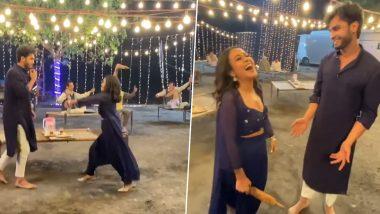 सुप्रसिद्ध गायिका नेहा कक्कर ने गाण्याच्या सेटवर शूटिंगदरम्यान सहकलाकाराला दिला बेदम चोप; पाहा नेमके काय घडले