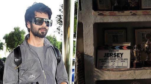 चंदीगडमध्ये Jersey सिनेमाच्या चित्रीकरणाला सुरुवात; शाहिद कपूरने शेअर केला फोटो