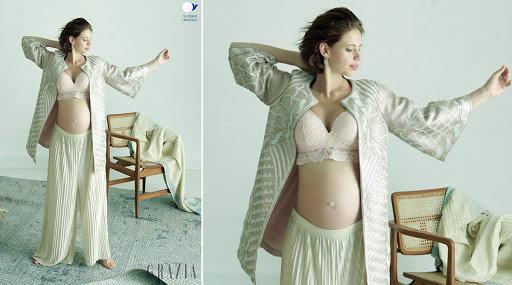 लग्नाअगोदरच आई होणारी अभिनेत्री कल्की कोचलिनने बेबी बंपसोबत केलं फोटोशूट; पाहा खास फोटो