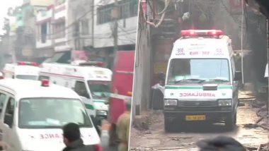 नवी दिल्लीतील अनाज मंडी येथे आगीचे तांडव; 43 जणांचा मृत्यू