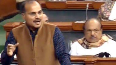 भारताचा प्रवास 'मेक इन इंडियाकडून रेप इन इंडिया'कडे; काँग्रेस नेते अधीर रंजन चौधरी यांचं वादग्रस्त वक्तव्य