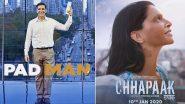 Chhapaak ते Padman... हे आहेत रिअल-लाईफ हेरोंवर आधारित काही बॉलीवूड चित्रपट