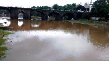 पुणे: तळेगाव एमआयडीसीला जोडणारा आंबी येथील इंद्रायणी नदीवरील पूल कोसळला
