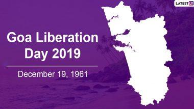 Goa Liberation Day 2019: भारताच्या स्वातंत्र्यानंतर तब्बल 14 वर्षांनी गोवा झाला होता मुक्त; अवघ्या 36 तासात पोर्तुगीजांनी पत्करली होती शरणागती, जाणून इतिहास