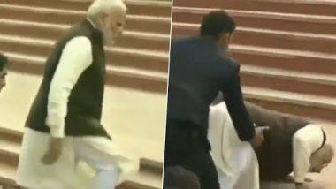 कानपूर: पंतप्रधान नरेंद्र मोदी अडखळून पडलेल्या 'अटल' घाटावरील पायऱ्या तोडण्यात येणार