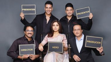 बॉलिवूड अभिनेता अक्षय कुमारने केली हॉरर थ्रिलर 'दुर्गावती' चित्रपटाची घोषणा