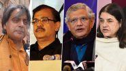 हैदराबाद बलात्कार आणि हत्या प्रकरणी आरोपींचा एन्काऊंटवर चुकीचा; शशी थरुर, उज्जव निकम, सिताराम येचुरी, मेनका गांधी यांनी व्यक्त केला संताप