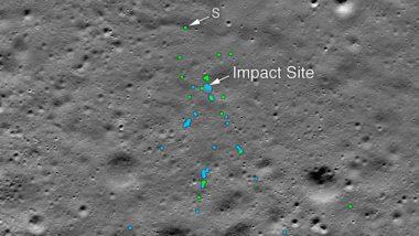 'चांद्रयान-2' च्या विक्रम लँडरला शोधले, नासाकडून छायाचित्र जारी