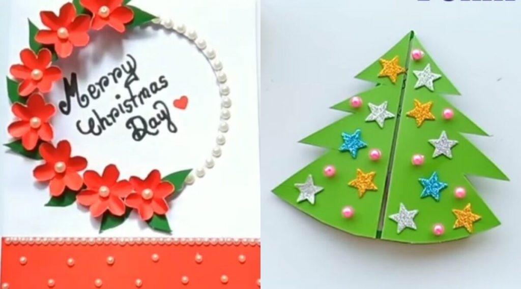 Christmas 2019 Greeting Cards: नाताळच्या शुभेच्छा देण्यासाठी 5 सोपी DIY XMas कार्ड्स बनवून खास करा ख्रिसमसचा सण!