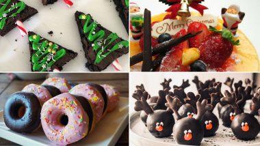 Christmas 2019 Special Easy Recipes: स्पॉंज केक, कुकीज पासुन ते टेस्टी डोनट पर्यंत यंदा 'या' सोप्प्या रेसिपी ट्राय करुन वाढ्वा ख़्रिसमसची शान (Watch Video)