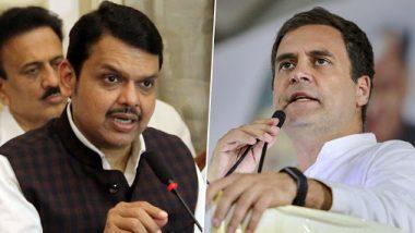 'केवळ आडनाव गांधी असल्याने कुणी 'गांधी' होत नाही' काँग्रेस नेते राहुल गांधी यांच्या वक्तव्यावर माजी मुख्यमंत्री देवेंद्र फडणवीस यांची संतप्त प्रतिक्रिया