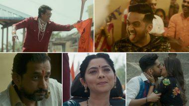 Naad Kara Song in Dhurala: अमेय वाघ, सिद्धार्थ जाधव आणि प्रसाद ओक यांच्या अंतरंगी अंदाजात थिरकायला लावणारे 'धुरळा' चित्रपटातील सतरंगी गाणे  'नाद करा' नक्की पाहा; Watch Video